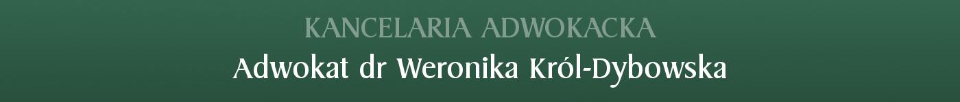 Adwokat Toruń | dr Weronika Król-Dybowska